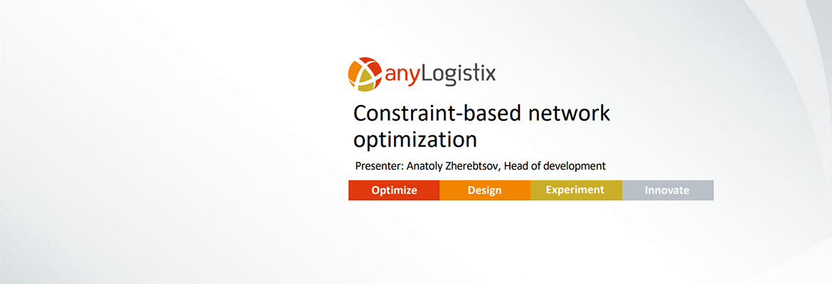 Video Tour Anylogistix Supply Chain Optimization Software