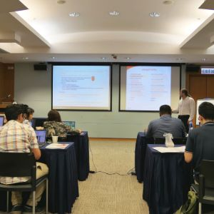 Attendees at anyLogistix Supply Chain Design and Optimization training in Hong Kong